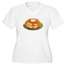 Stack of Pancakes Plus Size T-Shirt