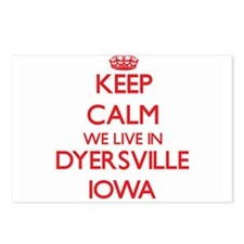 Keep calm we live in Dyer Postcards (Package of 8)
