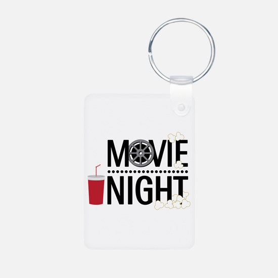 Movie Night Keychains