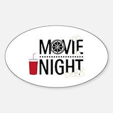 Movie Night Decal