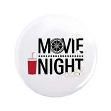 "Movie Night 3.5"" Button (100 pack)"