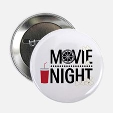 "Movie Night 2.25"" Button (10 pack)"