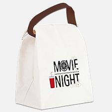 Movie Night Canvas Lunch Bag