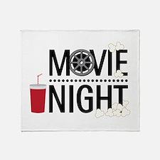Movie Night Throw Blanket