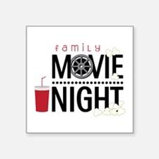 Family Movie Night Sticker