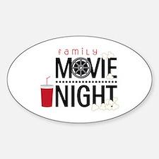 Family Movie Night Decal