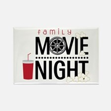 Family Movie Night Magnets
