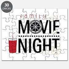 Family Movie Night Puzzle