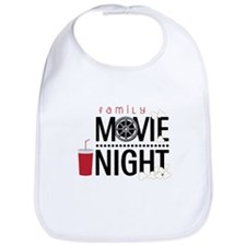 Family Movie Night Bib