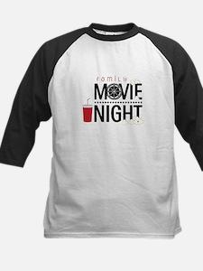 Family Movie Night Baseball Jersey