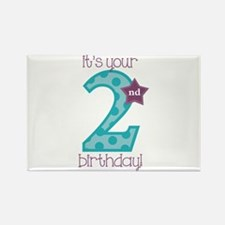 It's Your Birthday! Rectangle Magnet