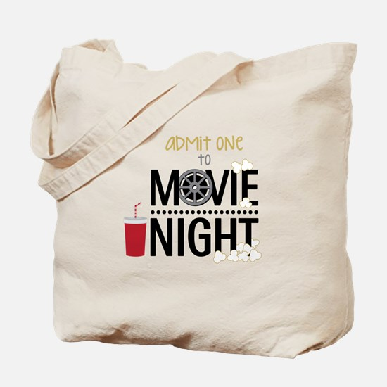 Admit one Movie Tote Bag