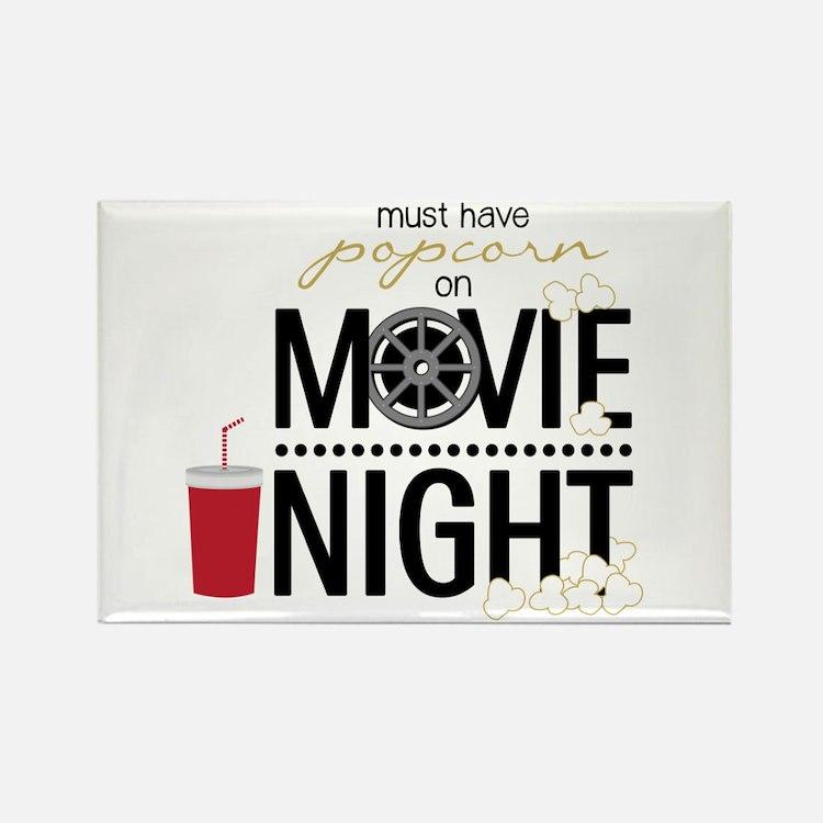 Movie Night Pop Magnets