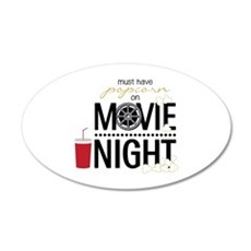 Movie Night Pop Wall Decal