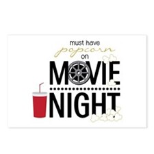 Movie Night Pop Postcards (Package of 8)