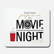 Movie Night Pop Mousepad