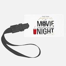 Movie Night Pop Luggage Tag