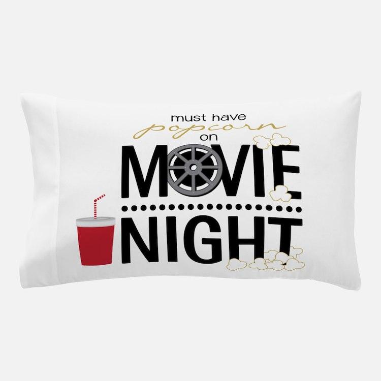 Movie Night Pop Pillow Case