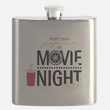 Movie Night Pop Flask