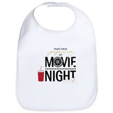 Movie Night Pop Bib