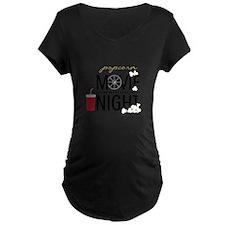 Movie Night Pop Maternity T-Shirt