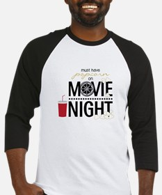 Movie Night Pop Baseball Jersey