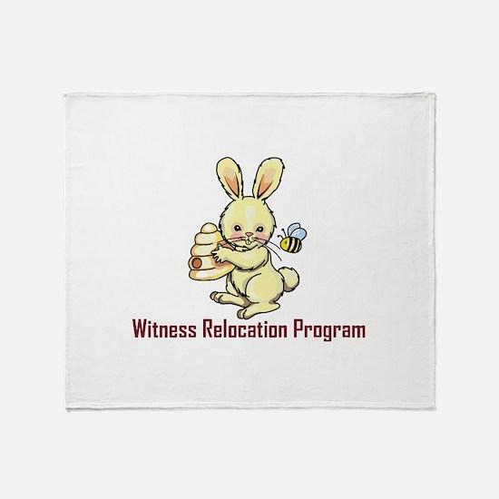 WITNESS PROGRAM Throw Blanket