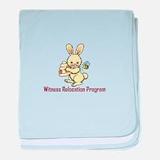 WITNESS PROGRAM baby blanket