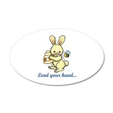 LEND YOUR HAND Wall Decal
