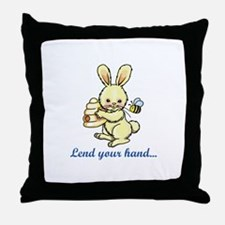 LEND YOUR HAND Throw Pillow