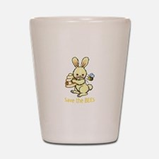 SAVE THE BEES Shot Glass