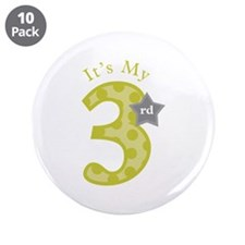 "It's My 3.5"" Button (10 pack)"