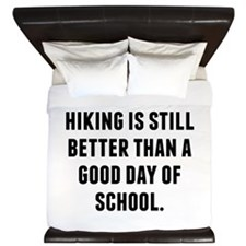 A Bad Day Of Hiking King Duvet