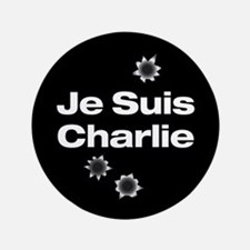 "Je Suis Charlie 3.5"" Button"