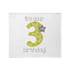 It's Your Birthday! Throw Blanket