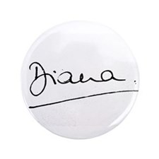 "HRH Princess Diana 3.5"" Button"