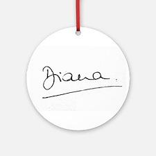 HRH Princess Diana Ornament (Round)