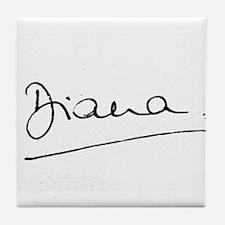 HRH Princess Diana Tile Coaster