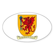 Somerset County Council COA Oval Decal