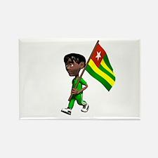 Togo Boy Rectangle Magnet