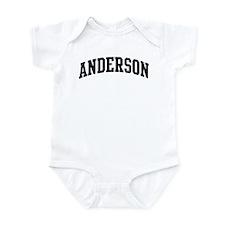 ANDERSON (curve-black) Infant Bodysuit