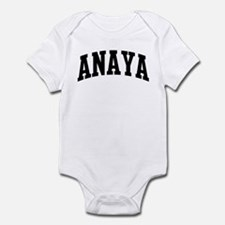 ANAYA (curve-black) Infant Bodysuit