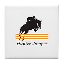 HUNTER JUMPER Tile Coaster