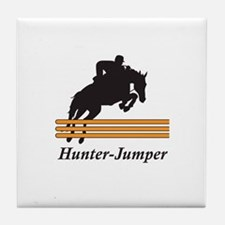 HUNTER JUMPER Tile Coaster
