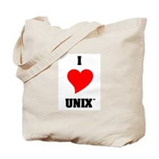 Unix Lovers Tote Bag