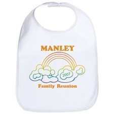 MANLEY reunion (rainbow) Bib