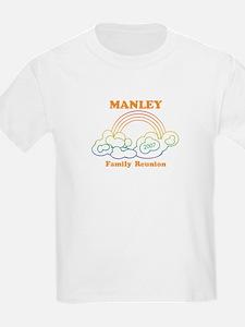MANLEY reunion (rainbow) T-Shirt