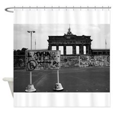 Berlin Wall - Iconic! Shower Curtain