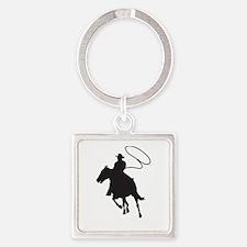 ROPING COWBOY Keychains