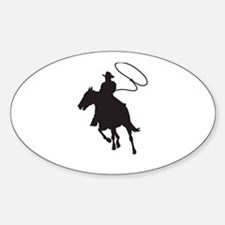ROPING COWBOY Decal